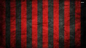 Red and Black Stripe Pattern Wallpaper
