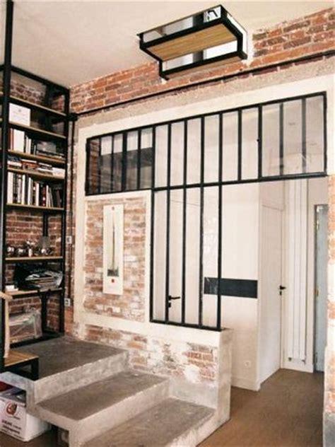 lit mezzanine metal avec bureau 7 façons de séparer une pièce avec une verrière intérieure