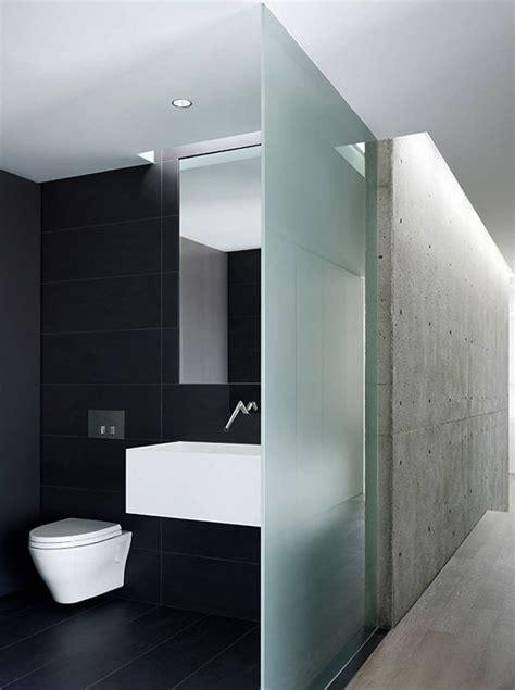 Stilvolle Und Mutige Badgestaltung In Schwarz by Stilvolle Und Mutige Badgestaltung In Schwarz Interior