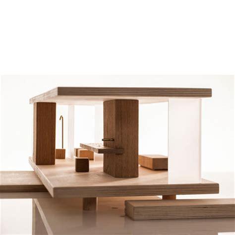 puppenhaus holz m 246 bliert modern modular sirch design dorfhaus