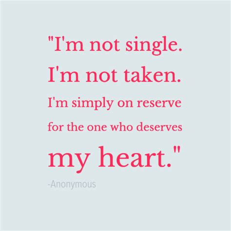 single and taken quotes