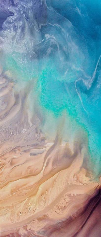 Iphone Ocean Wave Simple Aqua Wallpapers Ios