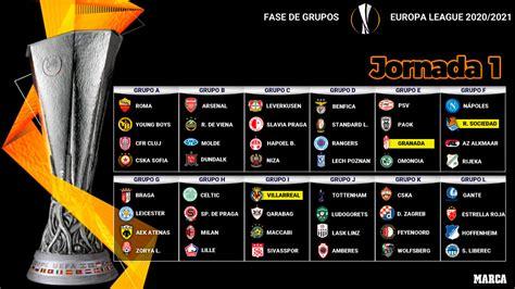 Calendario Europa League: Partidos, horarios y dónde ver ...
