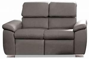 Sofa Grau Leder : leder 2er sofa mit relax grau sofas zum halben preis ~ Pilothousefishingboats.com Haus und Dekorationen