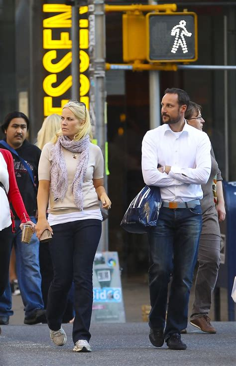 Maybe you would like to learn more about one of these? Prince Haakon and Princess Mette-Marit in Soho, New York - Zimbio