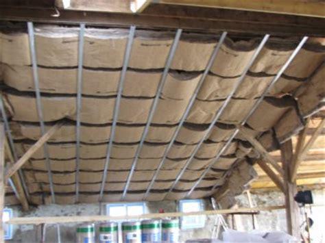 pose de verre plafond de verre renovation grange