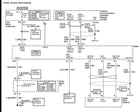 Wiring Harnes Schematic For Chevy Silverado by 2004 Chevy Avalanche Radio Wiring Diagram My Truck Does