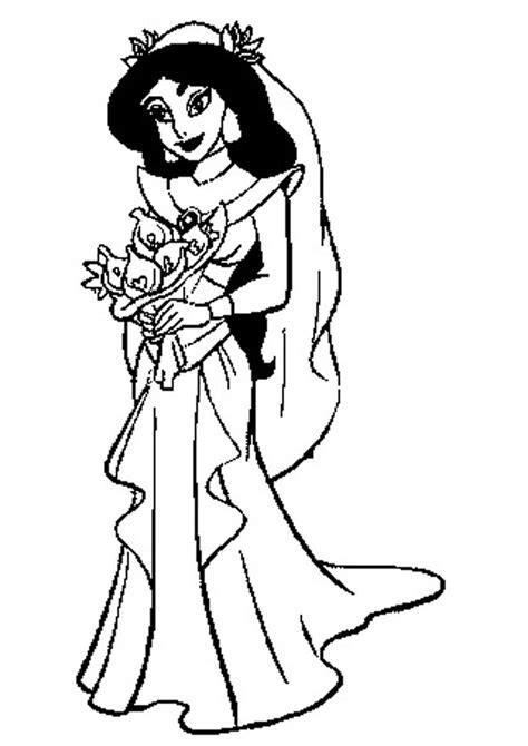 printable princess jasmine coloring pages az coloring pages