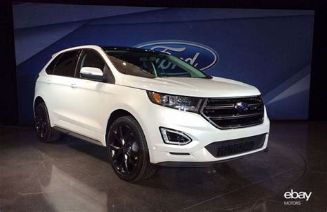 ford crossover ford unveils new 2015 edge crossover ebay motors blog