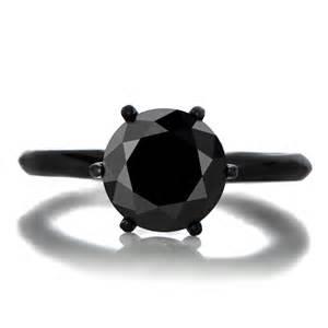 black ring engagement enya 39 s 1 5ct black cz engagement ring