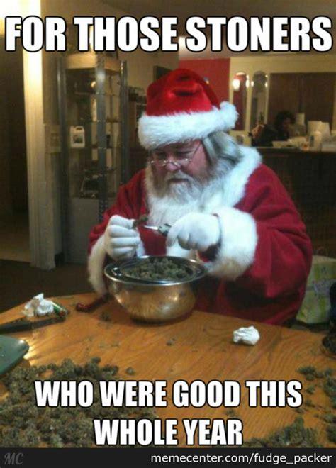 Dirty Santa Meme - speak of the devil santa got bitten by the dog