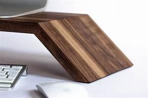 Ergonofis, Ergonomic, Wood, Monitor, Stand, U00bb, Gadget, Flow