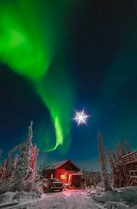 Yellowknife Northern Lights Teepee Alaska Glacier Lake Aurora Boreal Northern Lights Alaska