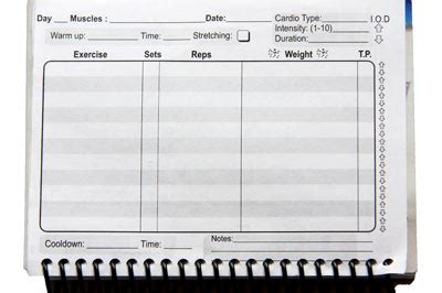 weight training log book workout log weight training journal and log book