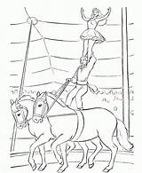 Circus Coloring Pages Printable Everfreecoloring sketch template