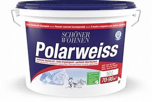 Schöner Wohnen Polarweiss : sch ner wohnen dispersion polarweiss weiss 10 l migros ~ Watch28wear.com Haus und Dekorationen