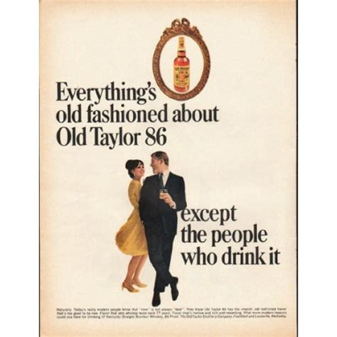 taylor whiskey vintage ad everythings