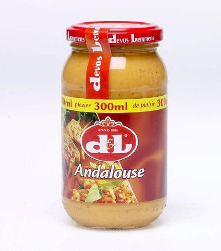 Devos Lemmens   Andalouse sauce/saus   300 ml. net
