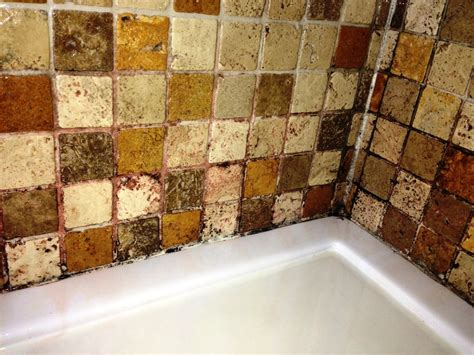 cleaning and sealing travertine shower tiles