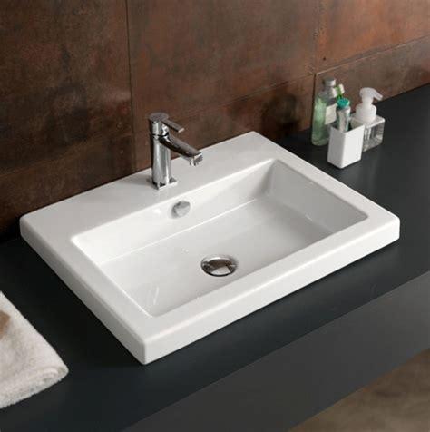 Bathroom Rectangular Sinks by Beautiful Ceramic Bathroom Sinks By Tecla Contemporary