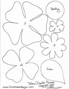 free printable paper flower templates scissors paper and With forged rose template