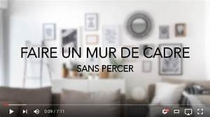 Accrocher Un Tableau Sans Trou : decoration mur sans trou ~ Premium-room.com Idées de Décoration