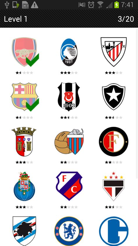 amazoncom logo quiz football clubs appstore  android