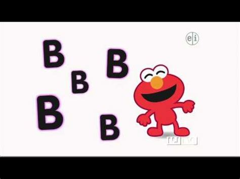 elmo letter of the day song elmo sings about the letter b