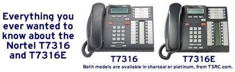 Nortel T7316 Programming
