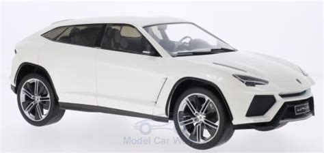 White Suv Lamborghini Urus By The New Producer Mcg In 1