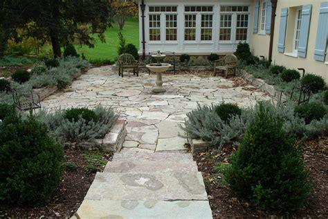 pea gravel patio search garden