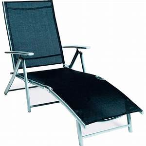 relax liegestuhl schwarz kaufen bei obi With französischer balkon mit relax liegestuhl garten