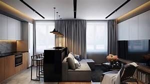 Small modern apartment interior design ideas for Interior design styles for small apartment