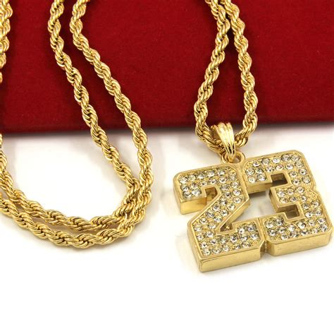 mens gold iced   basketball pendant quot rope
