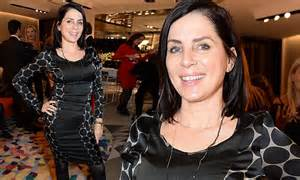 Sadie Frost wears a figure-hugging LBD at Christmas launch ...