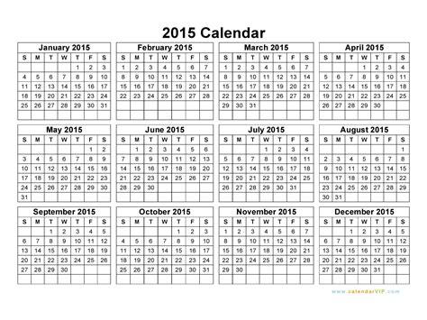 2015 Printable Calendars Calendar Printable 2015 Freepsychiclovereadings