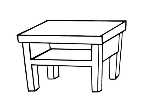 living room table coloring page coloringcrewcom