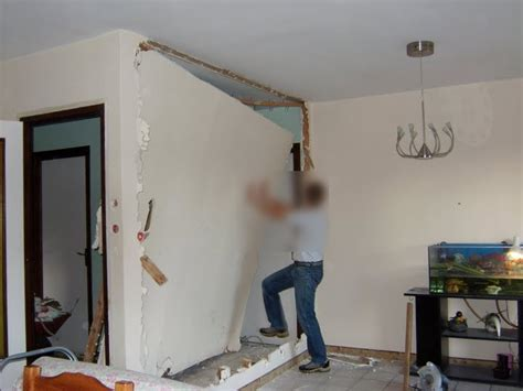 suppression d un mur en placo pour agrandir la pi 232 ce magicmanu