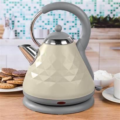 Salter Pyramid Kettle Naturals Diamond Grey Appliances