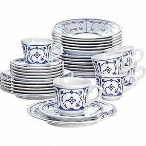Karstadt Geschirr Set : kahla porzellan kombi set blau saks 30 teilig von karstadt ansehen ~ Watch28wear.com Haus und Dekorationen
