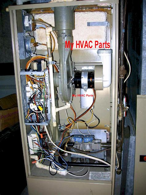 cnt trane combustion blower board