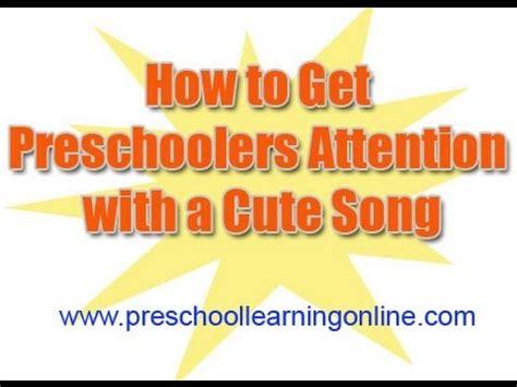 how to get preschoolers attention get preschool students 175 | hqdefault