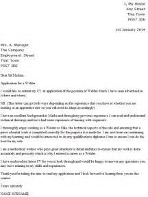 Welder Cover Letter Examples