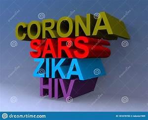 Diagram Of Corona Virus Particle Structure Cartoon Vector