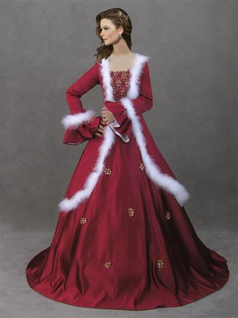 christmas gowns dressed up girl