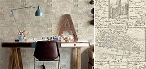 Papier Peint Bureau : papier peint bureau biblioth que votre style nos ~ Melissatoandfro.com Idées de Décoration