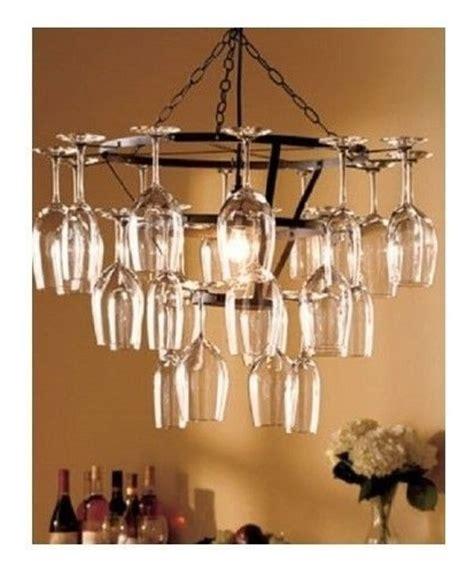wine glass chandelier 11 creative ideas guide patterns