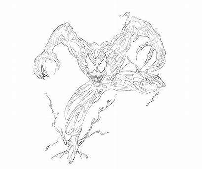 Coloring Carnage Pages Marvel Ultimate Alliance Printable