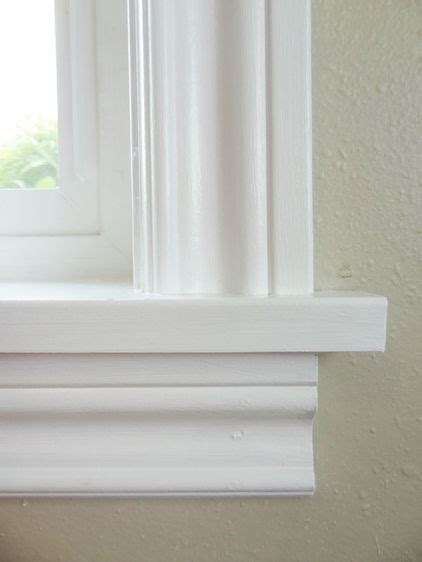 Window Ledge Trim by 1000 Images About Front Door Trim Moulding On