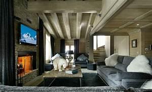 Bilder Wohnzimmer Groß : innendesign ideen im chalet stil die sie bewundern ~ Watch28wear.com Haus und Dekorationen